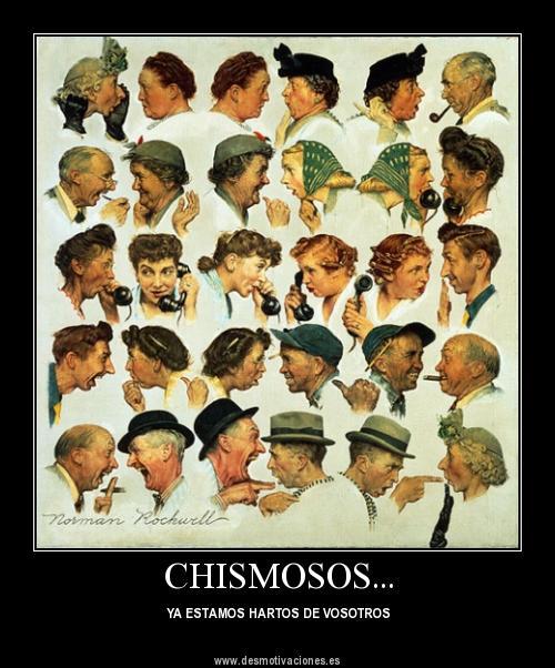 Chismosos
