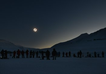 NORWAY-SCIENCE-ASTRONOMY-ECLIPSE