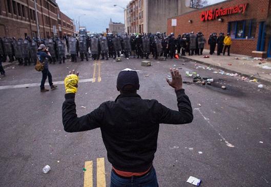 Baltimore protestas antiracistas foto