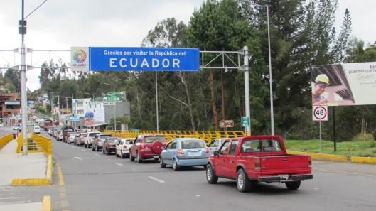 Foto Carros ecuatrianos a Ipiales