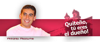 foto Antonio Ricaurte campaña