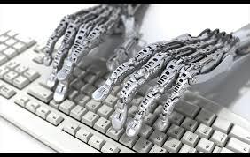 foto robot periodista