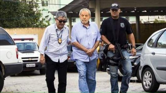 fotografía Lula arrestado