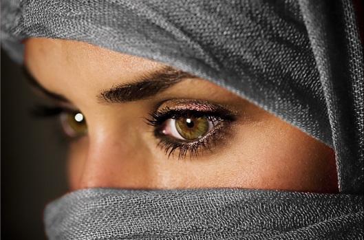 fotografía belleza musulmana