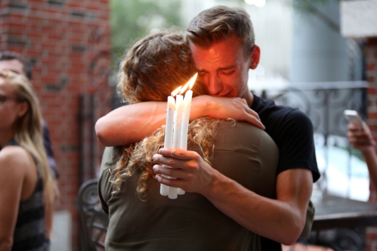 Ember candlelight vigil