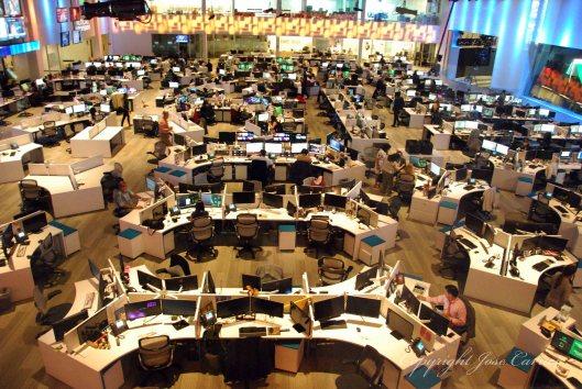 fotografía sala de redacción II