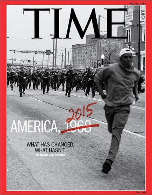 """La bofetada de Revista Time a la """"sociedad blanca"""" de los EE.UU."""