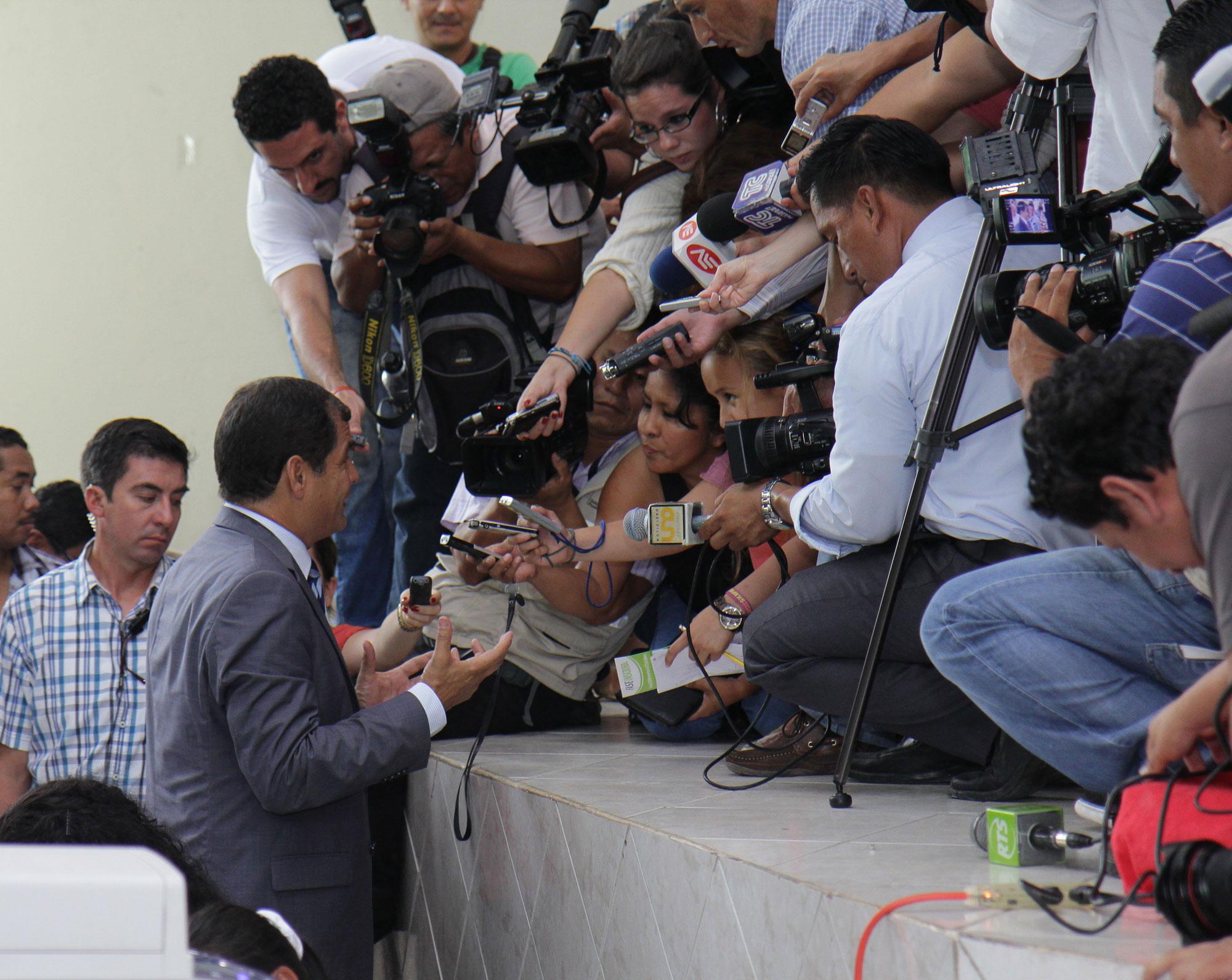 Periodismo ecuatoriano en crisis