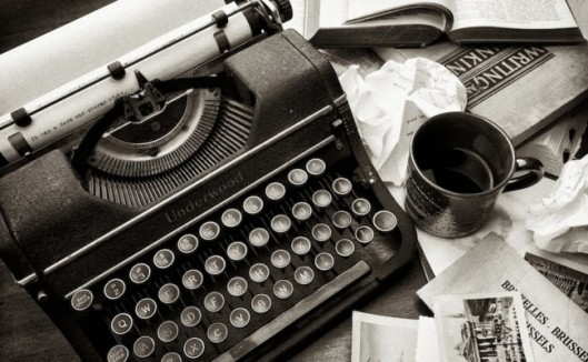 escritorio de periodista