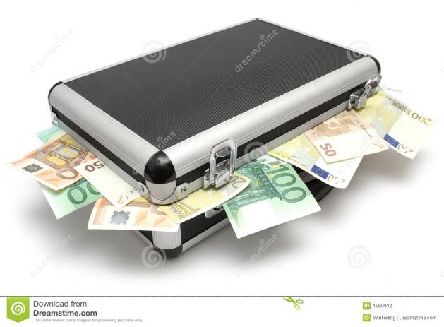 Maleta de dinero