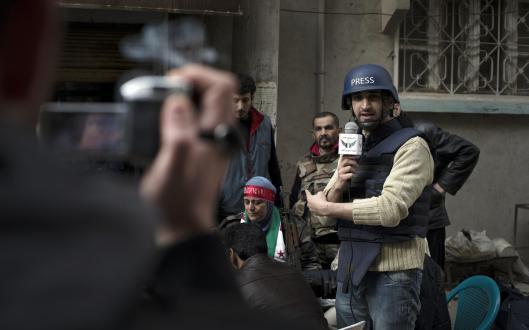 Periodistas en guerra
