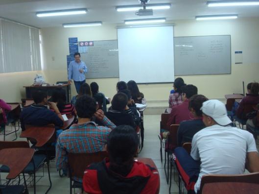 Loja, charla para estudiantes de la UTPL