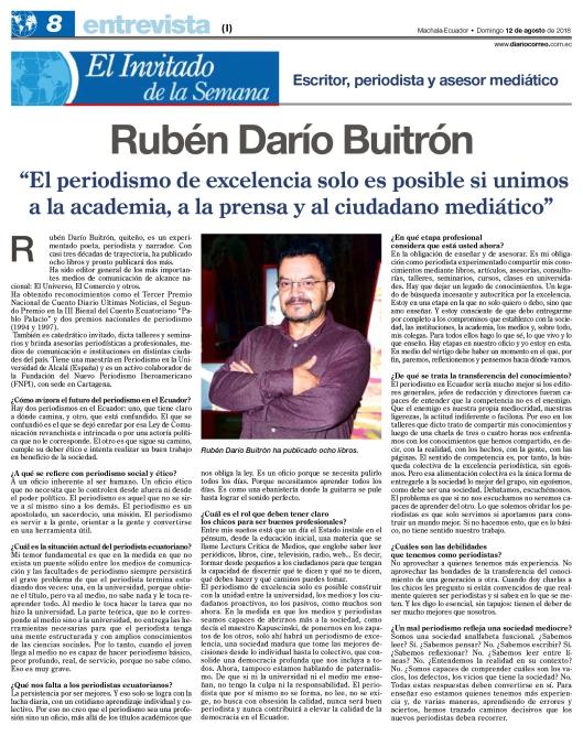 RDB Entrevista CORREO